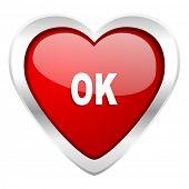 ok valentine icon