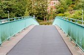Endless Road Over A Bridge