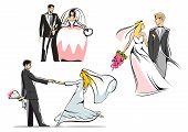 Wedding Couples Icons