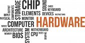 word cloud - hardware