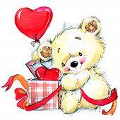 image of cute bears  - Valentine Day - JPG