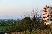 Greece, Outskirts Of The Village Nea Kallikratia