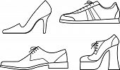 Shoes - Vector Illustration