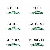 Film Stars Laurels 3