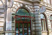 bundessozialamt vienna, main entrance,