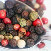 picture of peppercorns  - Peppercorn Blend - JPG
