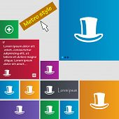 pic of cylinder  - cylinder hat icon sign - JPG