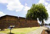 pic of malacca  - The Malacca fort in Malaysia of sunny day - JPG