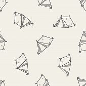 picture of tent  - Doodle Tent - JPG