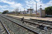 image of train track  - Train tracks - JPG