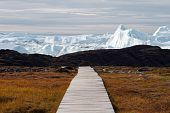 Boardwalk To The Icefjord