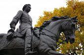 Civil War General On Horseback