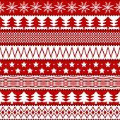Christmas seamless texture