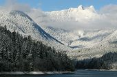 Mountans And Snow