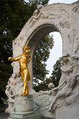 Johann Strauss Monument poster