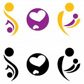 Pregnancy And Motherhood Symbol.