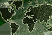 World Map _ Radar Grid