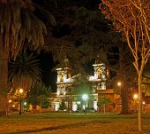 Cachi Church By Night