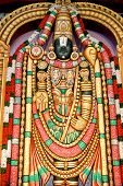 Lord Vishnu In The Form Of Lord Venkateswara