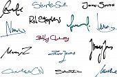 Signaturen