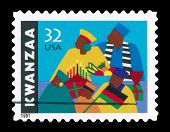 Usa 1997 Kwanzaa stamp