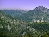 Neuschwanstein Castle Sideview