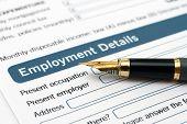 Formulário de emprego