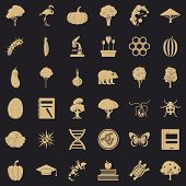 Fauna Environment Icons Set. Simple Set Of 36 Fauna Environment Vector Icons For Web For Any Design poster