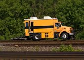 Railroad Track Inspection Truck