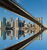 Brooklyn Bridge, New York, Verenigde Staten