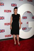 LOS ANGELES - FEB 24:  Julia Ormond arrives at the GREAT British Film Reception at the British Consu