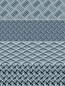 Metal texture seamless patterns