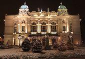The Slowacki theatre, Krakow