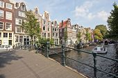 City View Panorama From The City Amsterdam The Netherlands