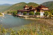 Punakha Dzong (Palace of Great Happiness), Bhutan