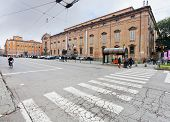 View Of Museum Palace From Square Largo Porta Sant'agostino