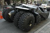 Batmobile Rear Wheels