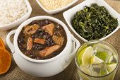 foto of brazilian food  - Feijoada  - JPG