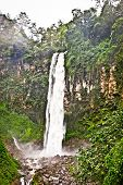 Beautiful Grojogan Sewu waterfall  on central Java in Indonesia.