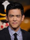 LOS ANGELES - NOV 02:  JOHN CHO arriving to