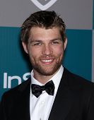 LOS ANGELES - JAN 15:  LIAM McINTYRE arriving to Golden Globes 2012 After Party: WB / In Style  on J