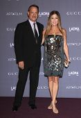 LOS ANGELES - OCT 27:  Tom Hanks & Rita Wilson arrives to the LACMA hosts 2012 Art + Film Gala  on October 27, 2012 in Los Angeles, CA