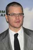 LOS ANGELES - DEC 6:  Matt Damon arrives at the 'Promised Land' Premiere at Directors Guild of Ameri