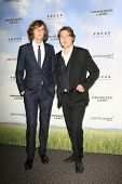 LOS ANGELES - DEC 6:  The Milk Carton Kids - Kenneth Pattengale, Joey Ryan arrives at the 'Promised