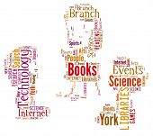 Word Cloud fo Children Reading
