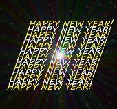 Happy New Year! Super Nova