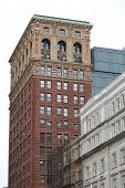 Broadway and Chambers Building Showing Beautiful Architectural Details in New York City