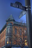 Historic Old Town Of Fort Collins, Colorado