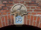 vintage street number
