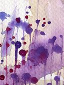 Painted Watercolor Background